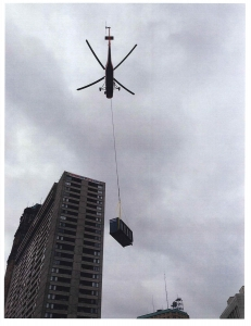 HELICOPTER LIFT FOR A