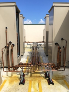 REFRIGERATION PIPING FOR 2-LARGE SPLIT
