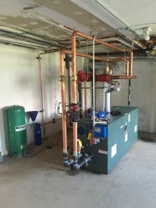 NEW BOILER SYSTEM